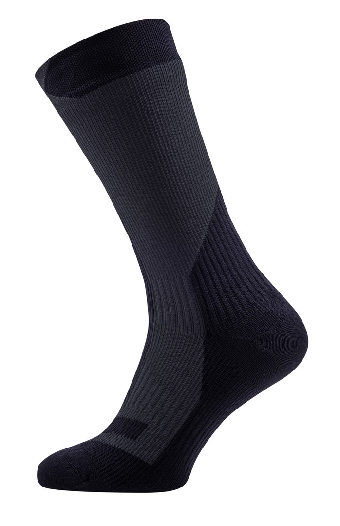 Sealskinz - Calze TrekkingThick Mid Black/Anthracite Thermal Rating 4