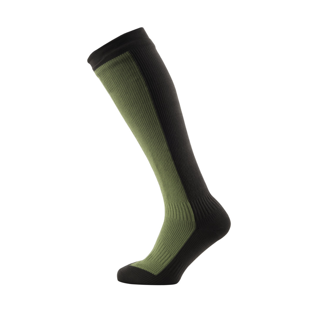 Sealskinz - Calze Hiking Mid Knee Golden Moss/DK Olive Thermal Rating 3