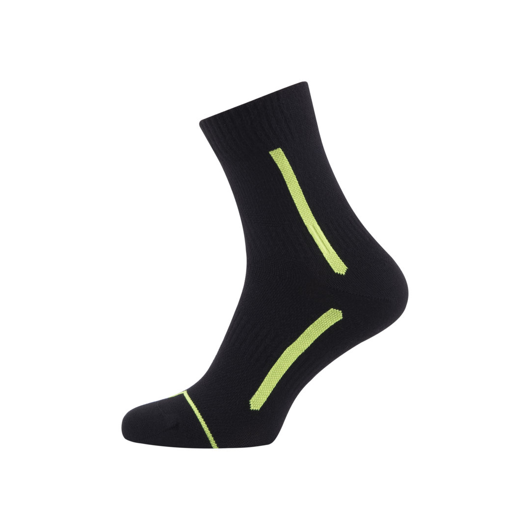 Sealskinz - Calze Road MaxAnkle Black/Illuminous Thermal Rating