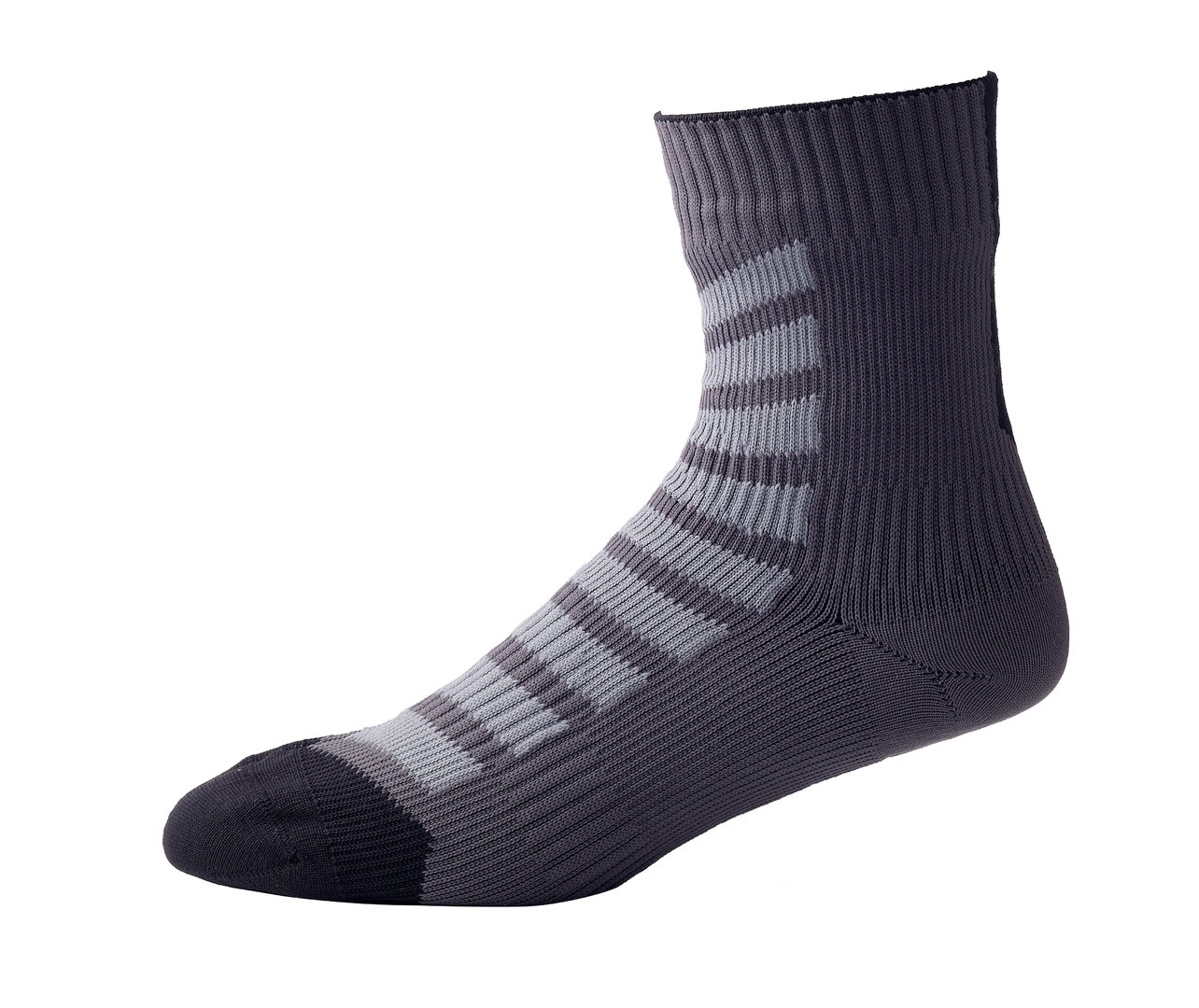 Sealskinz - Calze MTB Ankle with Hydrostop Anthracite/Charcoal/Black