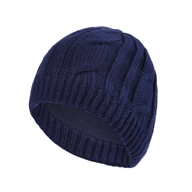 Sealskinz - Hat Waterproof Cable Knit Navy Thermal Rating 4 ... 82b57e0db8d