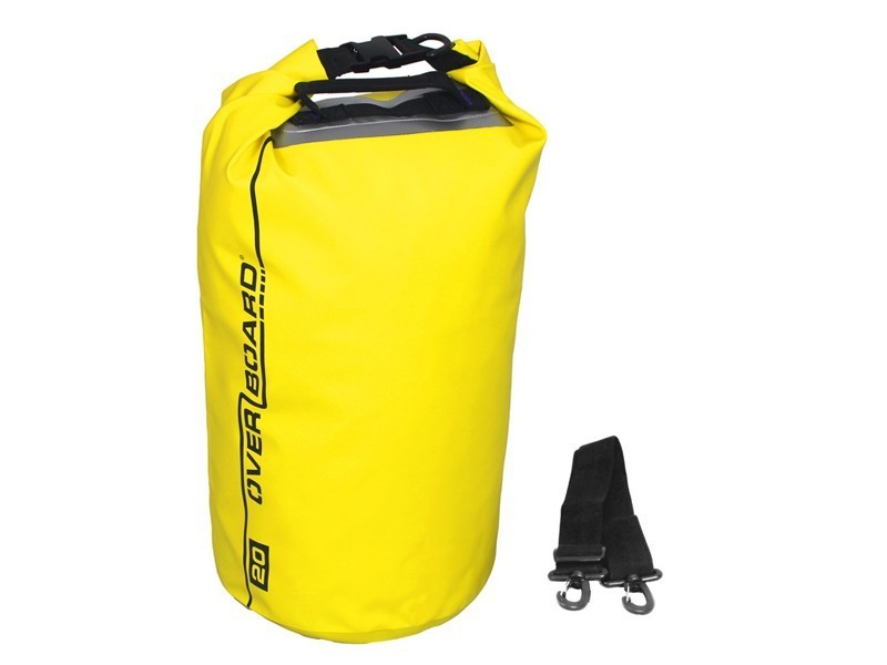 Waterproof Dry Tube Bag with Window - 20 Litres