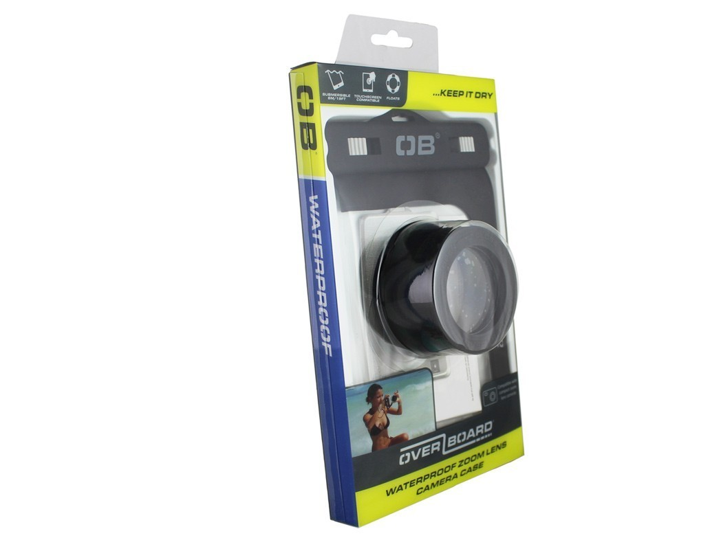 Waterproof Zoom Lens Camera Case