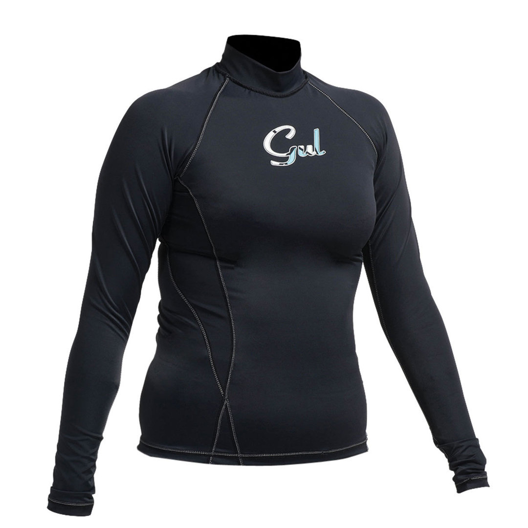GUL - Swami Ladies Long Sleeve FL Rashvest Black 2017-2018