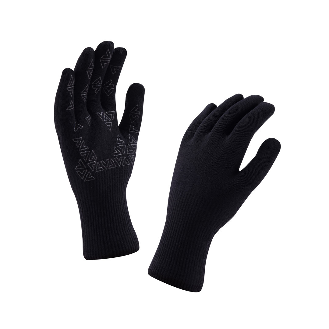 Sealskinz - Guanti Ultra Grip Black/Anthracite Thermal Rating 2