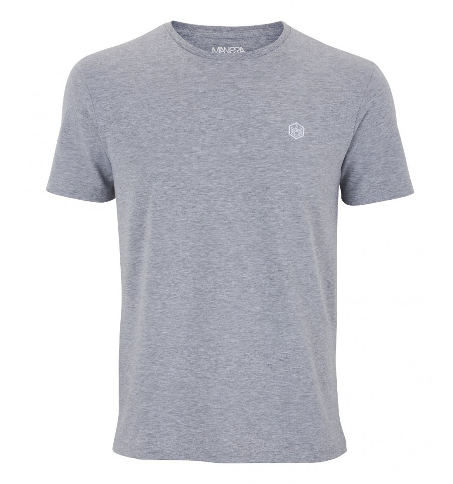 MANERA - Tee Shirt Manche Courte/Short Sleeves Lavanono - Heather Gray
