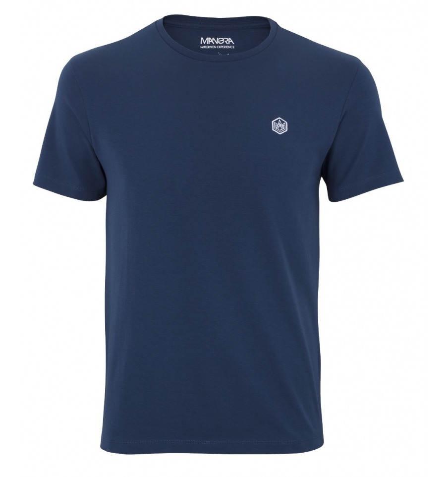 MANERA - Tee Shirt Manche Courte/Short Sleeves Lavanono - Ocean Blue