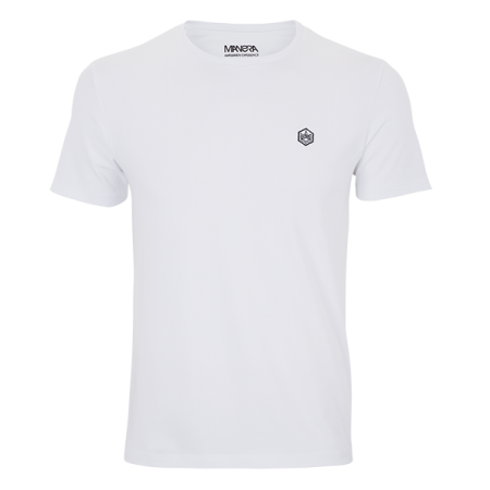 MANERA - Tee Shirt Manche Courte/Short Sleeves Lavanono - White