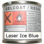 Laser Gelcoat ICE/BLUE (160 grms)