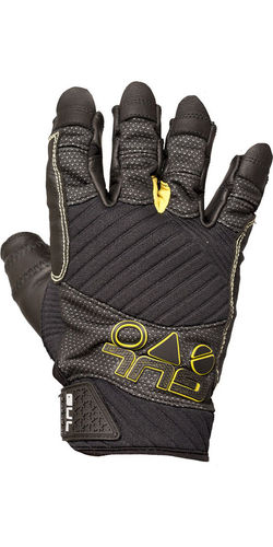 GUL - Adult Junior EVO Pro Short Finger Sailing Glove - Black