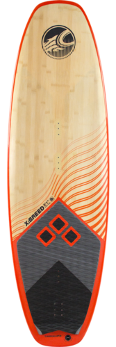 Surfino X:BREED CROSSOVER SURF inc. 3 pinnette RTM e rear deck pad Cabrinha 2019