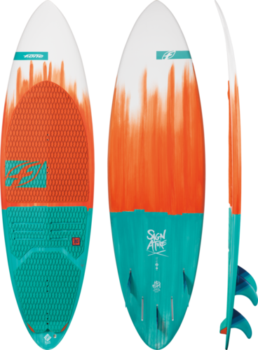 "F-One 2019 - Surf Signature Flex 5'8"" Con Pad"