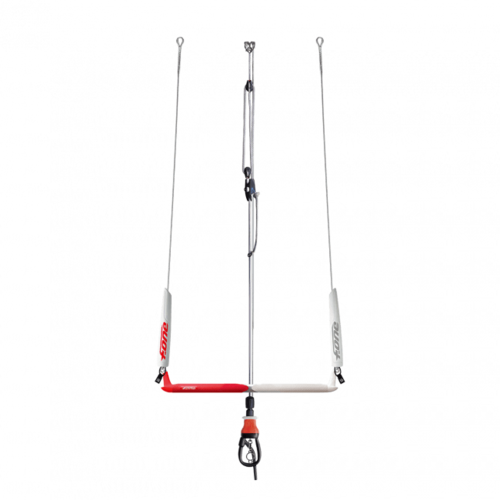 F-One 2020 - Kitebar DIABLO V.4 (WITHOUT LINES) con Safety Leash