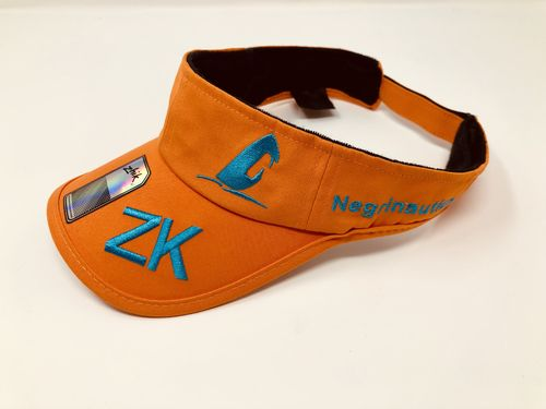 Negrinautica - Orange Custom Visor Limited Edition