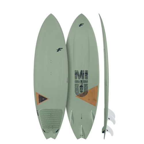 F-One 2020 - Mitu Pro Bamboo Futures Boxes x3 Futures Fin