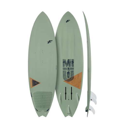 F-One 2020 - Mitu Pro Bamboo Foil Futures Boxes x3 Future Fin