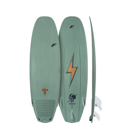 F-One 2020 - Slice Bamboo  -Futures Boxes x3 Futures Fins F4437