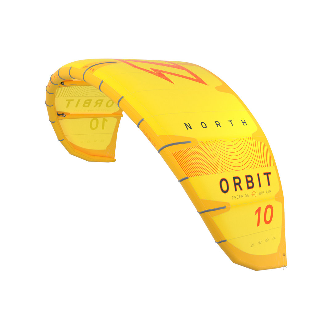 North 2020 - Orbit Kite Yellow