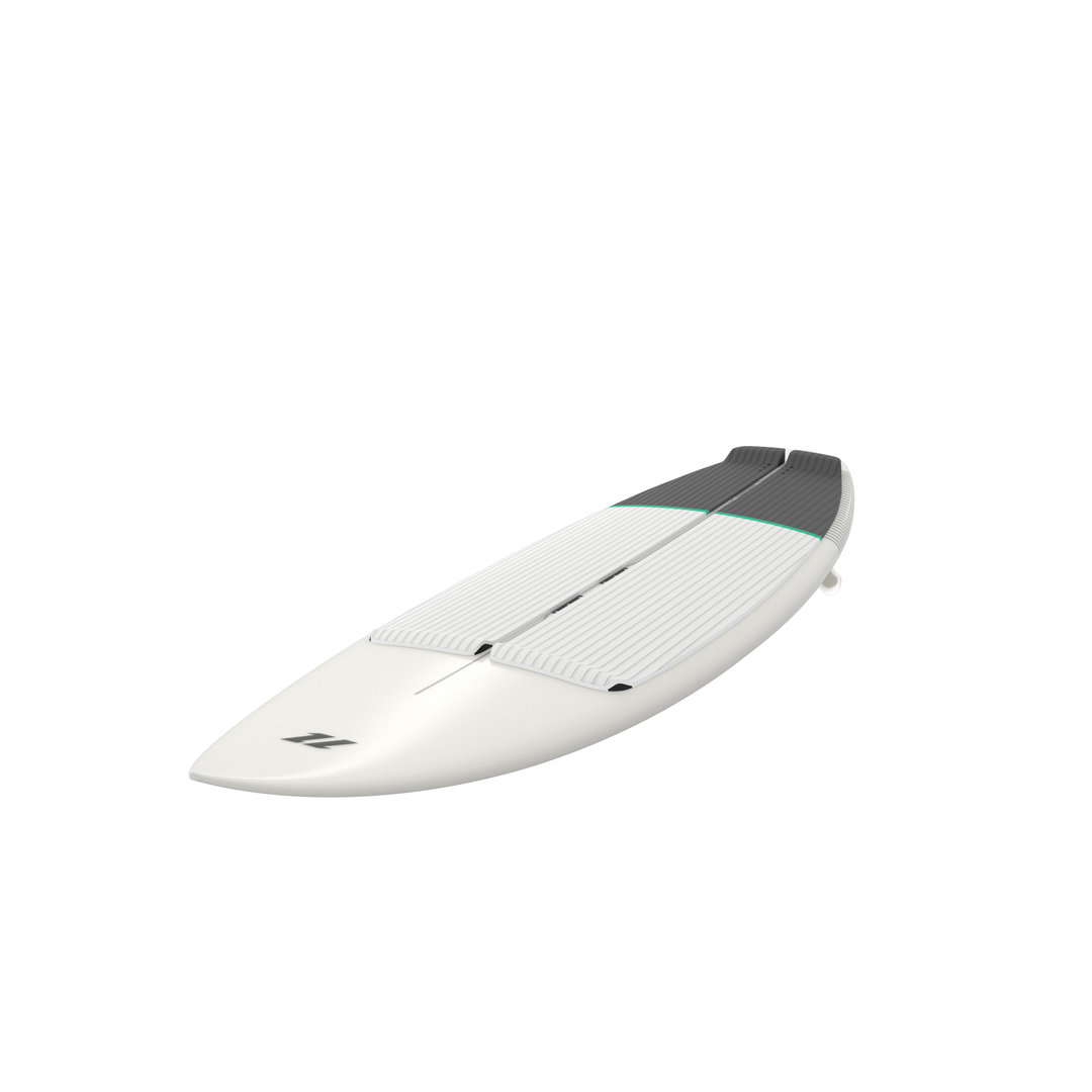 North 2020 - Charge Surfboard White