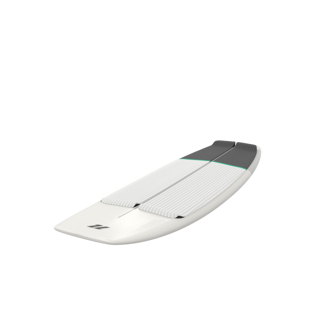 North 2020 - Comp Surfboard White 5.0inch