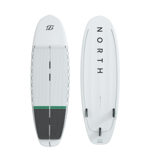 North 2021 - Cross Surfboard White