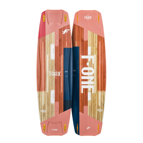 F-One 2021 Twintips TRAX HRD LT PAPAYA