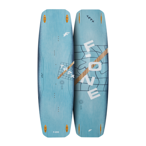 F-One 2021 Twintips TRAX-4x Unibox fins 50mm